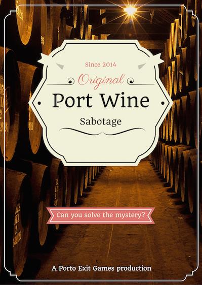 Port wine cellar escape room